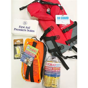 Cottage Water Safety Kit (w. infant pfd)