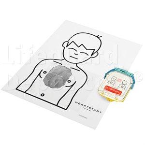 AED, Philips, Heartstart Onsite Training Pad Cartridge