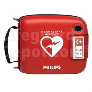 AED, Philips, Heartstart FRx w / 2 Pad Cartridges, Battery