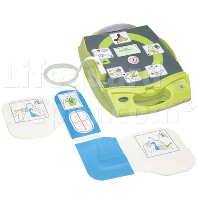 AED, Zoll, AED Plus, Fully-Automatic w / CPR-D Pads (adult
