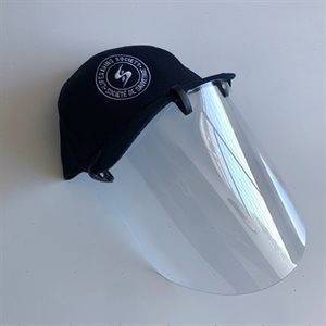 Cap Face Shield (includes clips)