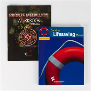 Canadian Lifesaving Manual with Bronze Medallion Workbook, 2020 Edition