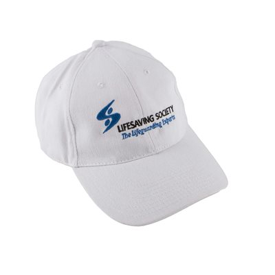 Lifesaving Society Cap - White